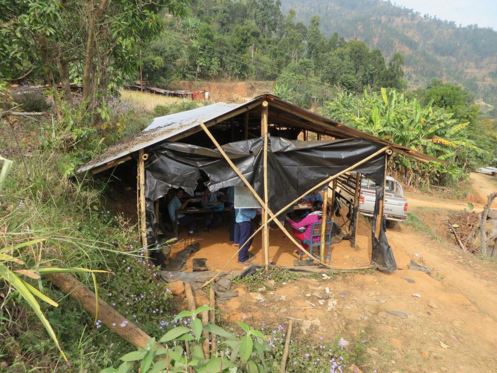 Ratmate, Nepal - Old Classroom