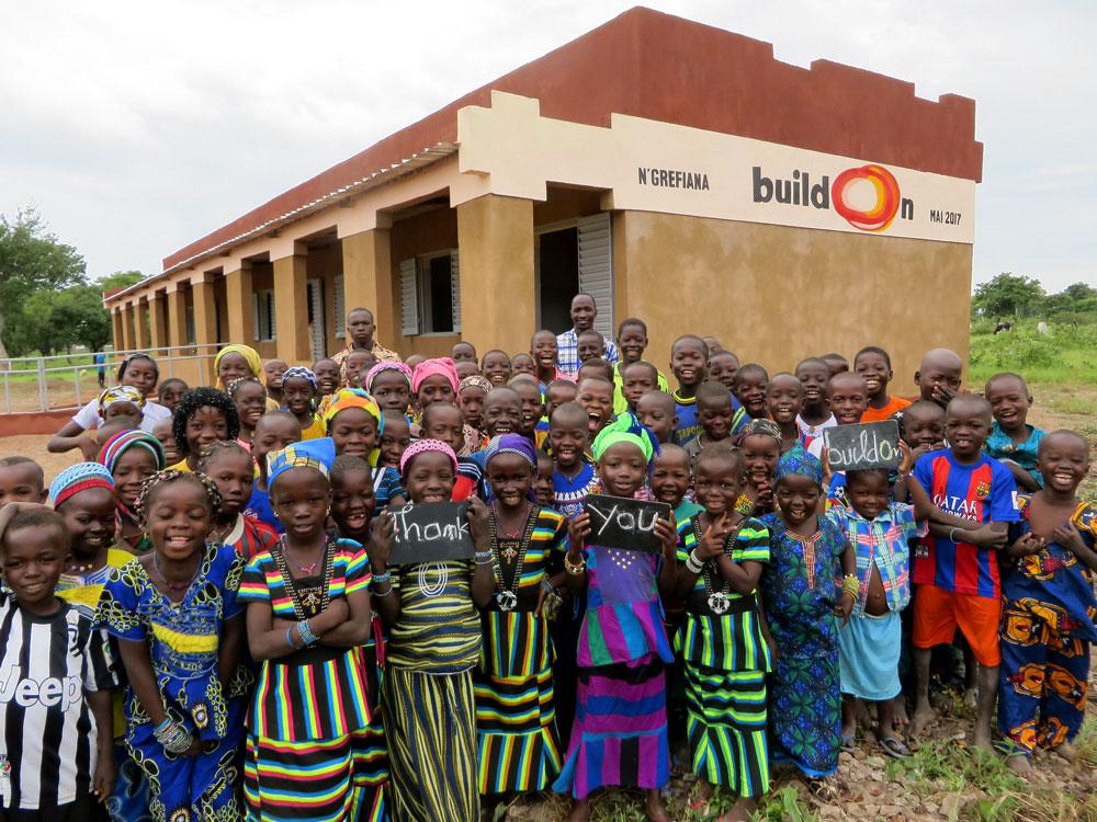 N'grefiana, Mali - New buildOn School