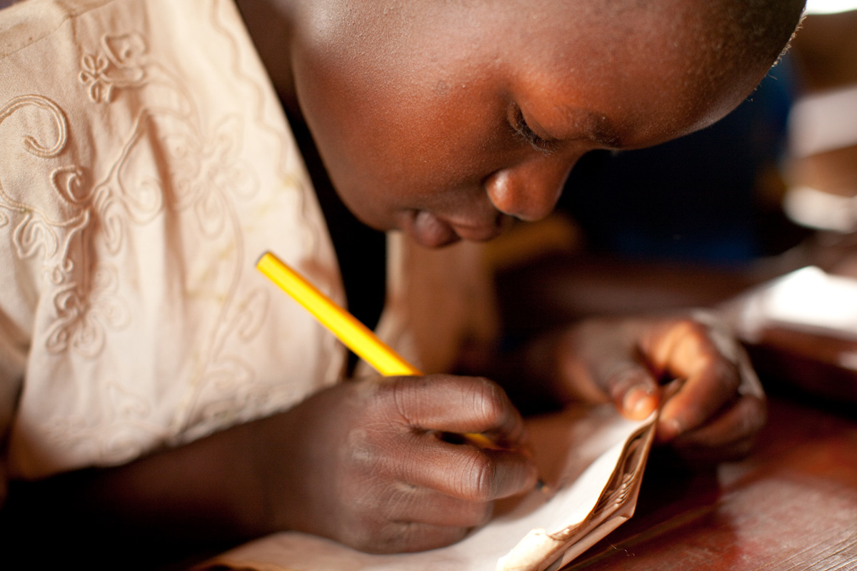 students at Kabila School